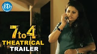 7 to 4 Telugu Movie Theatrical Trailer __ Anand Radhika Loukya, Balakrishna