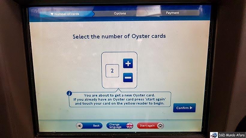 Como usar o Oyster Card em Londres