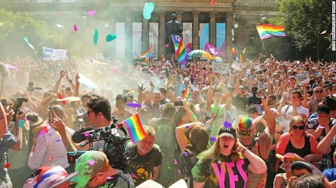 Australia votes 'yes' to same-sex marriage