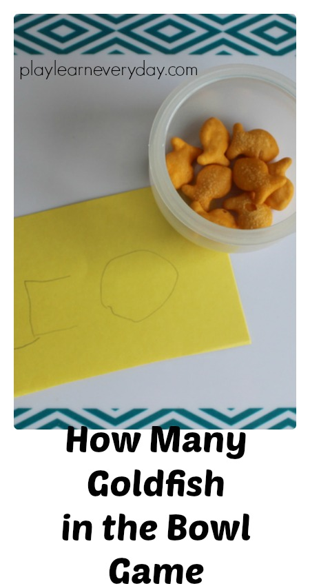 How Many Goldfish In The Bowl Game Play And Learn Every Day