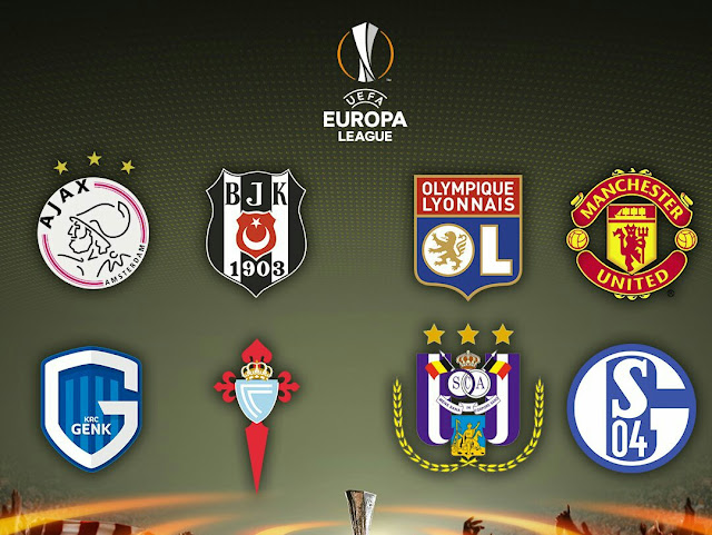 Definidos os classificados para as quartas da Europa League