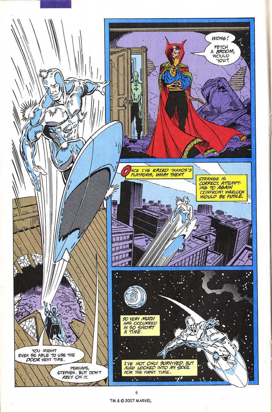 Read online Silver Surfer (1987) comic -  Issue #60 - 8