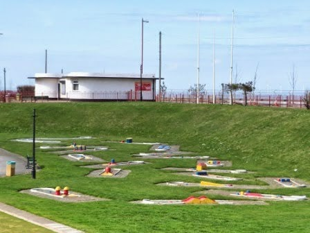 Crazy Golf in New Brighton