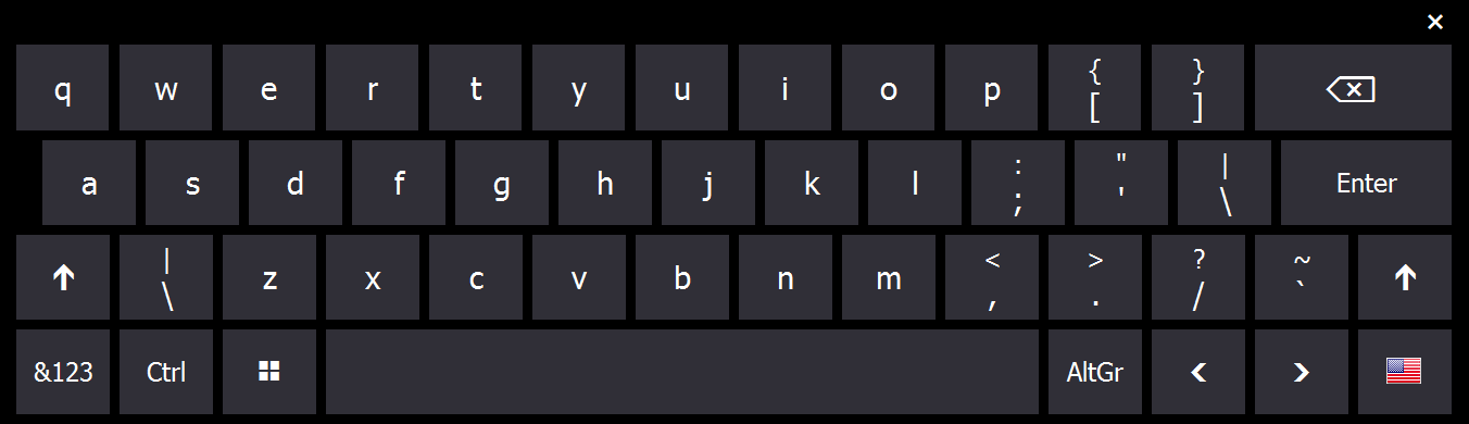 Hot Virtual Keyboard free download for windows 10 pro 64bit current