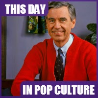 Mr. Rogers aired his last show on August 31, 2001.
