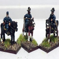 ACW18 Mounted Officers (3 variants).