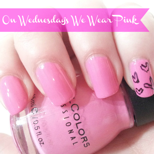 On Wednesday's We Wear Pink NOTD