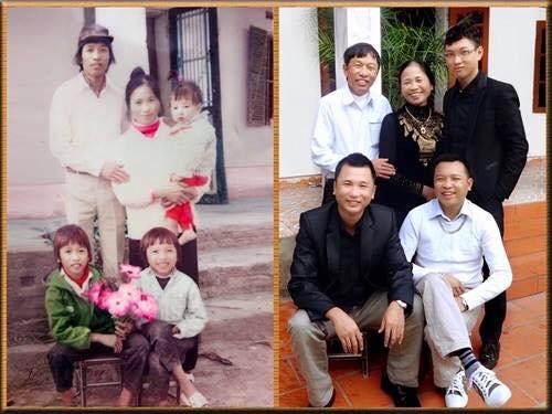 foto unik keluarga yang tidak berubah momennya setelah puluhan tahun-2