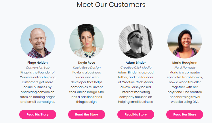 Writing customer testimonials examples