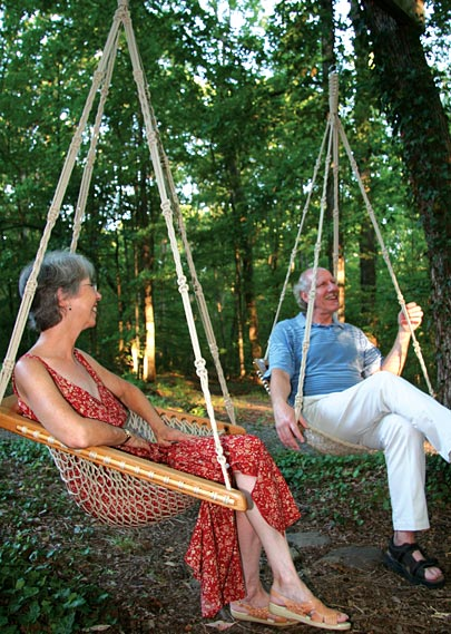 Piedmont Tree Climbing Ptc Tree Swing Installation