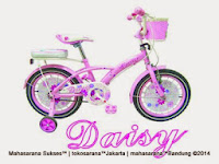 Sepeda Anak Family Daisy Keranjang