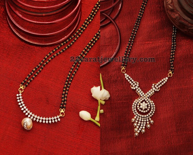 Black Beads Sets by Manubhai Jewellers
