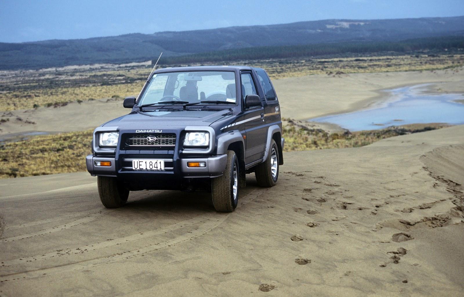 4WD Newz: Daihatsu Feroza: Not A Bad Little Truck