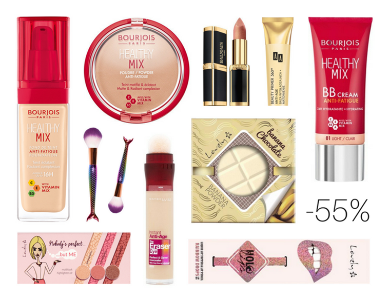 Rossmann -55% na kosmetyki do makijażu: Promocja kwiecień 2018 | Co warto kupić?