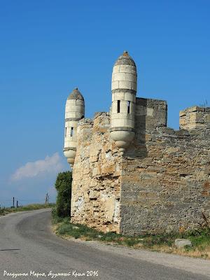 Крым крепость Еникале