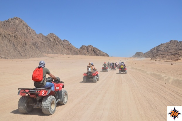 Sharm El Sheikh, escursione in quad