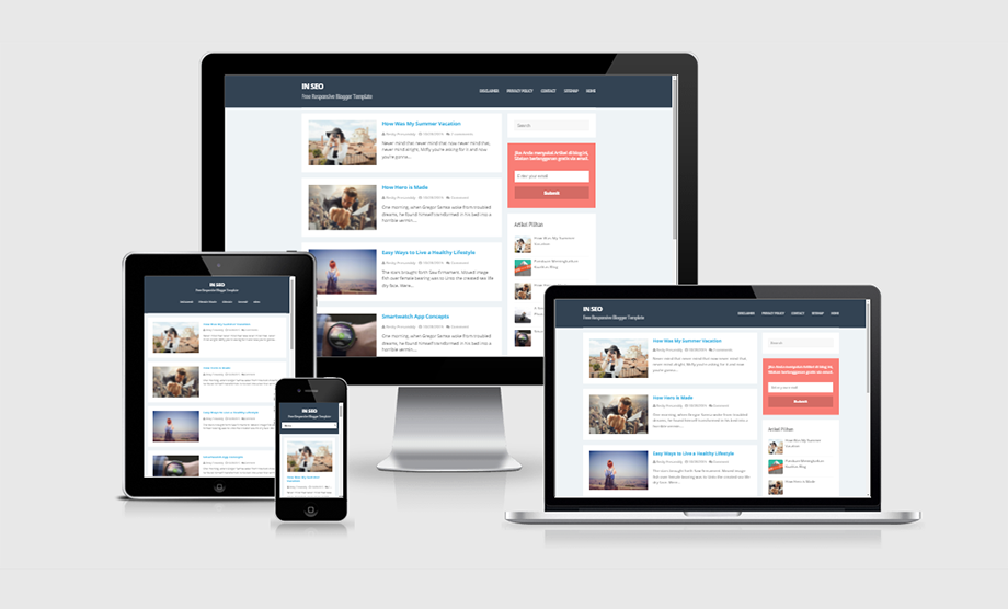 In SEO Responsive and SEO Friendly | Blogger Theme Download - FREE ...