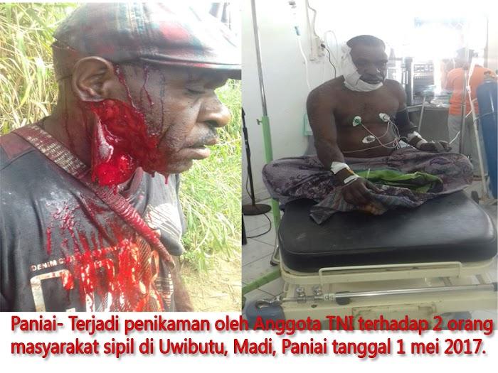 Lagi Oknum Anggota TNI Tikam 2 Bersaudara di Paniai