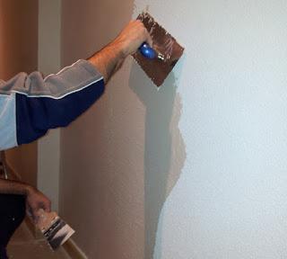 Pintores: eliminación de gotelé