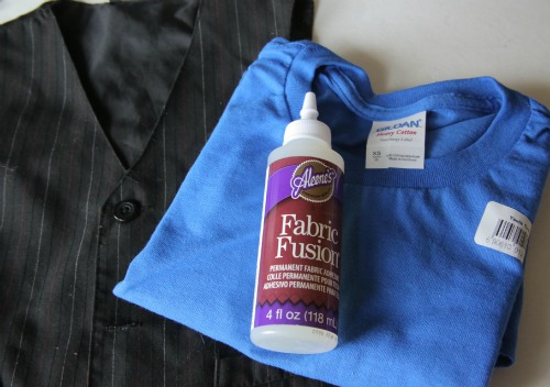 DIY Vest T-shirt Supplies