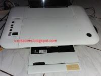 Cara isi ulang tinta printer HP tipe catridge
