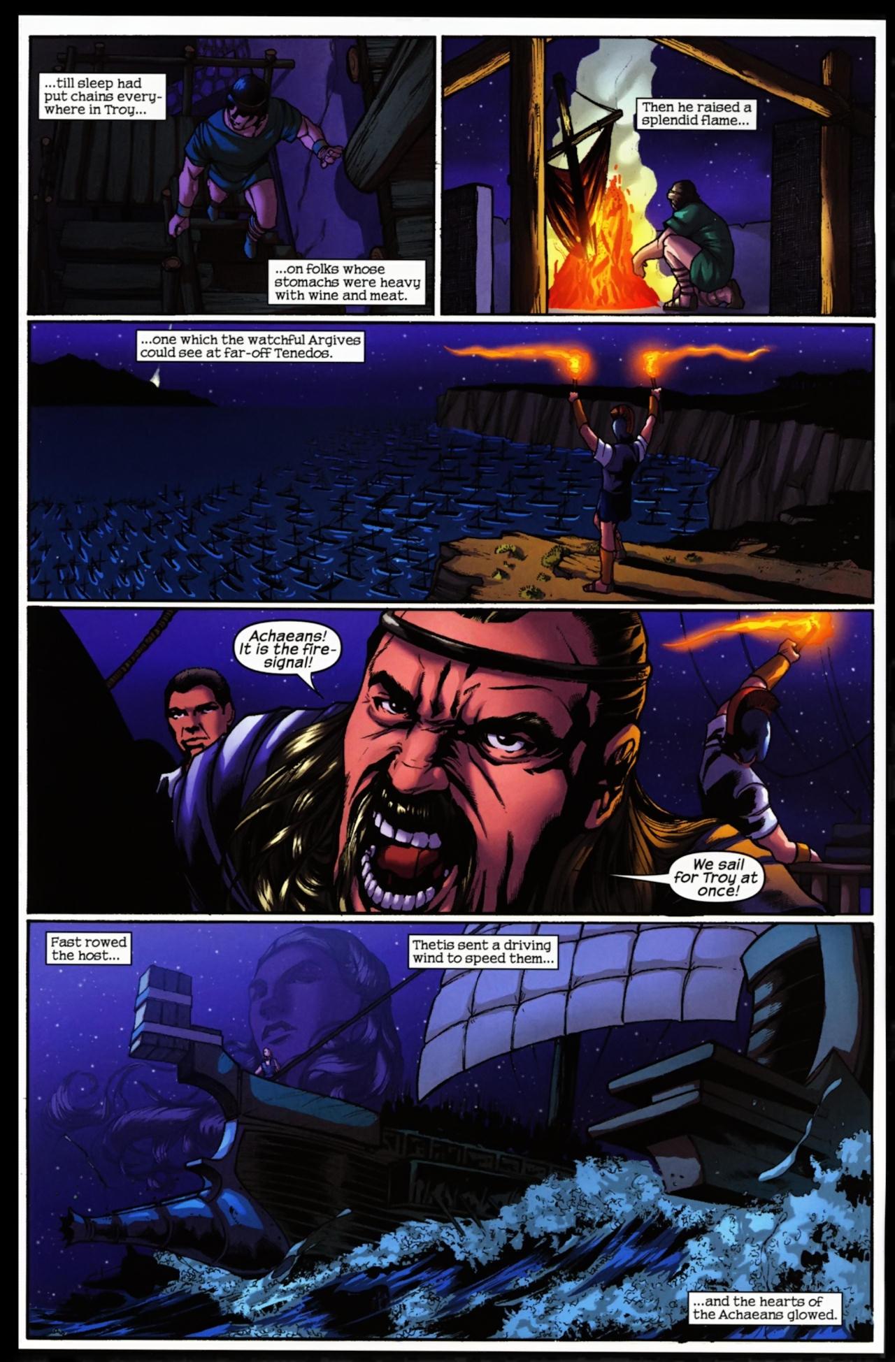 Read online Trojan War comic -  Issue #5 - 6