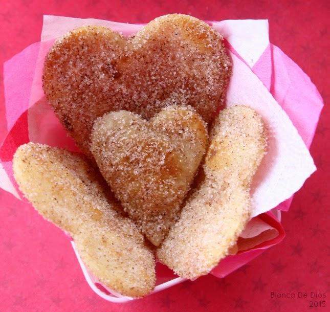 Buñuelos de amor con sólo 4 Ingredientes by www.unamexicanaenusa.com