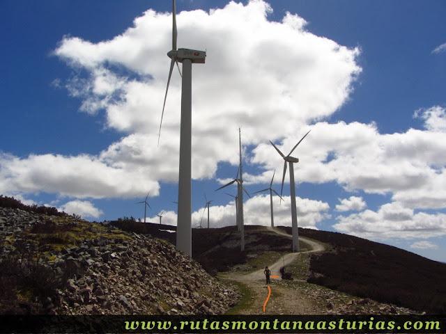 Aerogeneradores de la Sierra del Palo