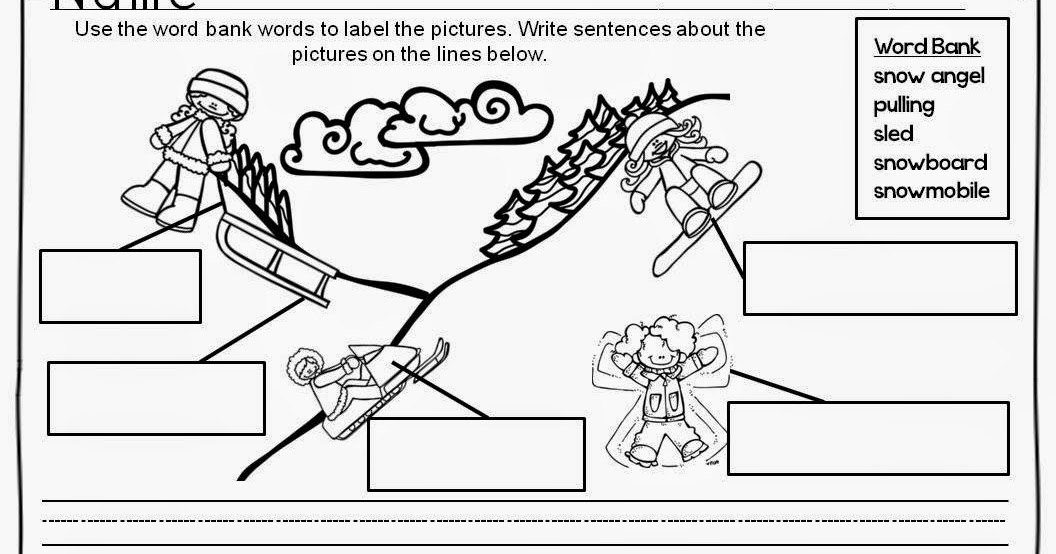 Classroom Freebies: Winter Writing Activities