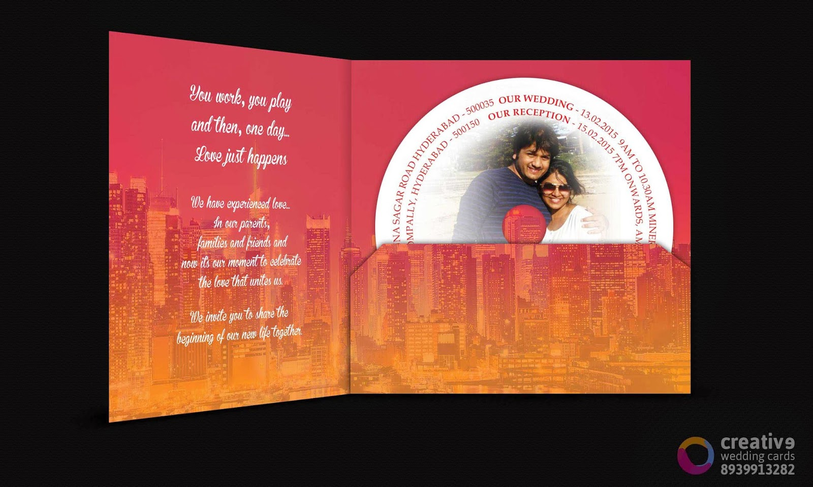 Wedding Invitations In Chennai: Customized-Wedding-Invitation-Chennai: 2015