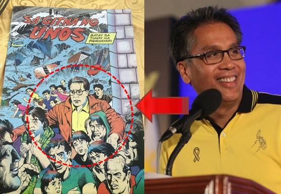 Roxas: A superhero during typhoon Yolanda?