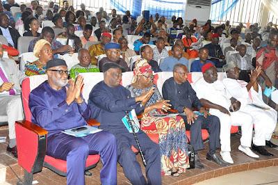 Photos:Former Tanzania's President Mr Mkapa, Bukola Saraki, Boss Mustapha, Willie Obiano, peter Obi, and others Storm 7th Zik Lecture