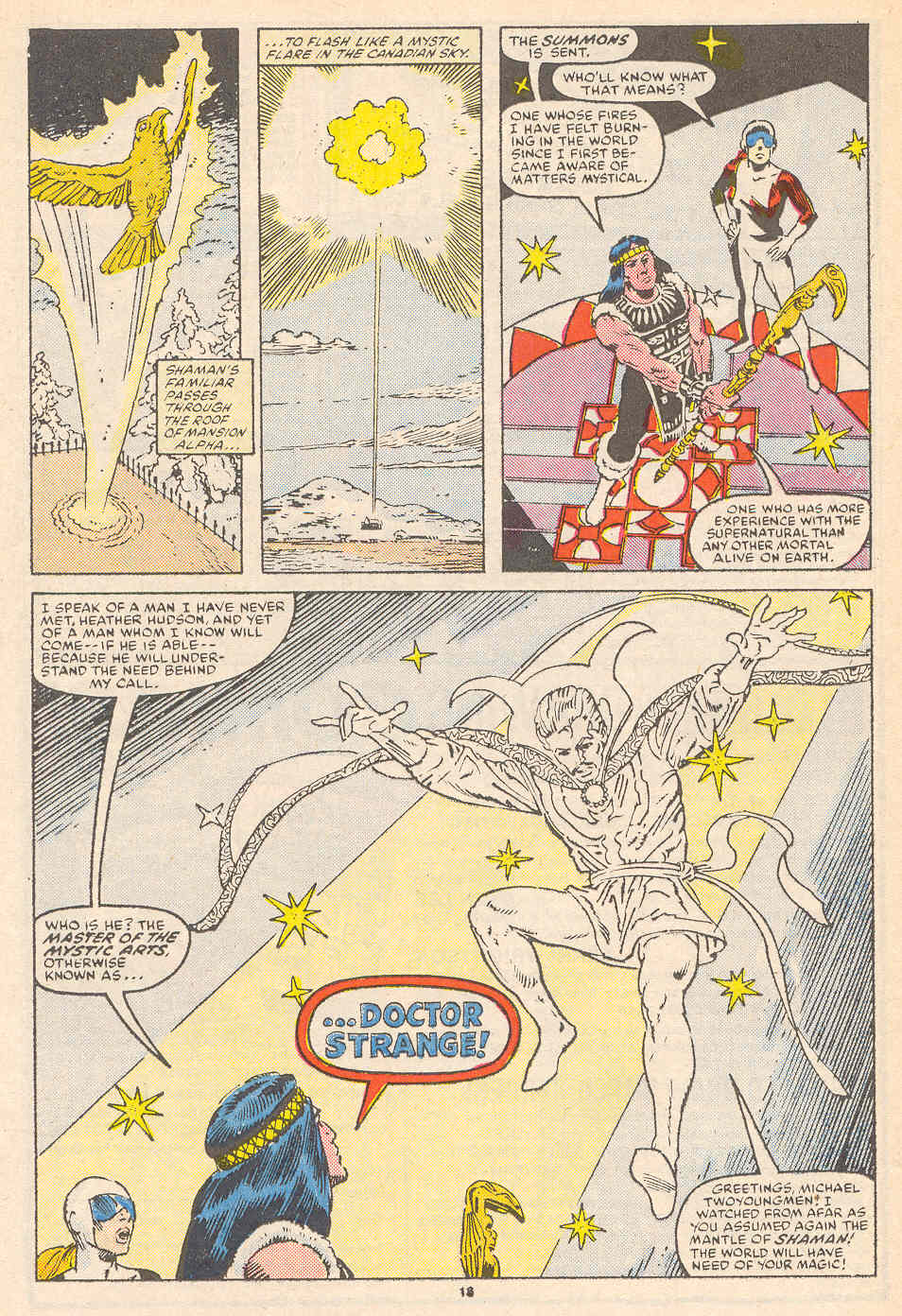 Read online Alpha Flight (1983) comic -  Issue #36 - 19