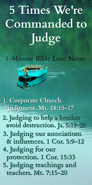 Appropriate Biblical Judgment, Judge Biblically, Matthew 7:1-4