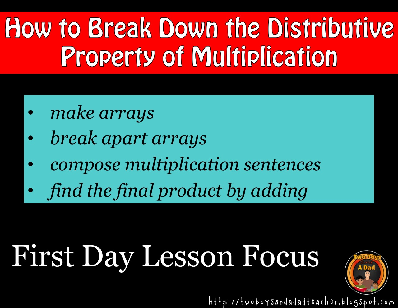 first day lesson focus