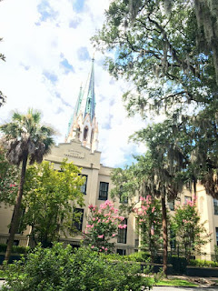 Savannah famous spots includes Cathedral of St John the Baptist | Photo courtesy Sandy Traub. Used with permission.