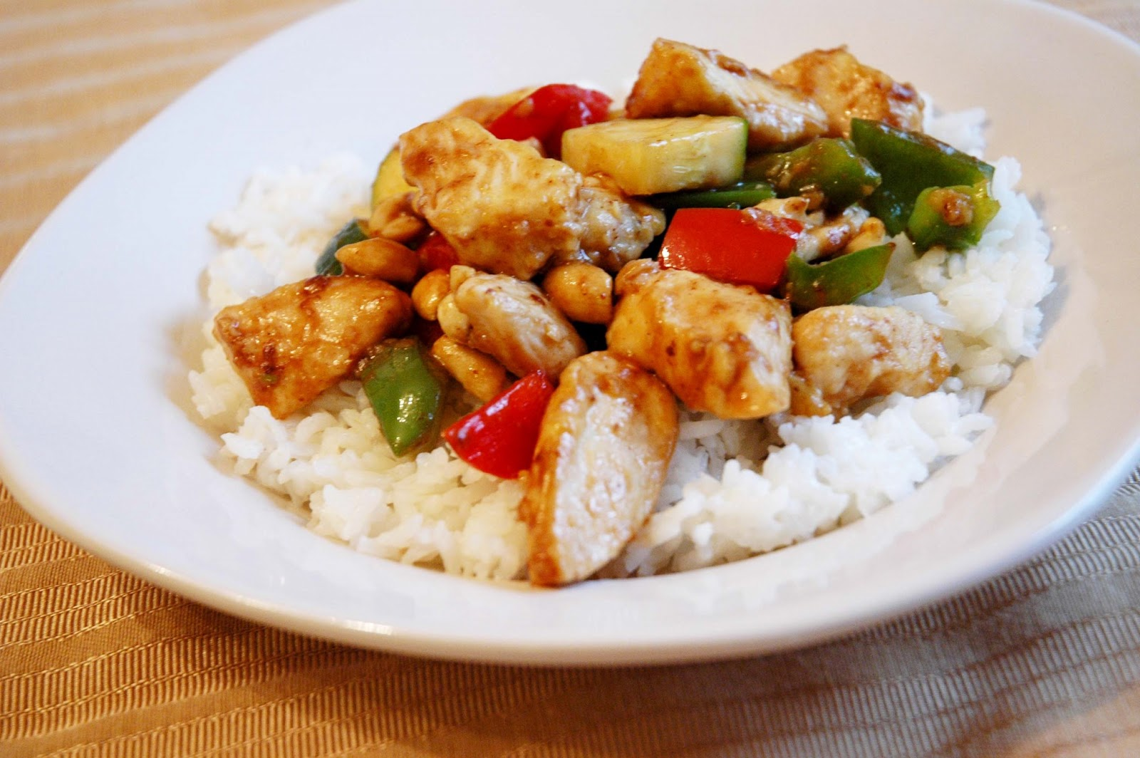 Seven Bum Kitchen: Panda Express Kung Pao Chicken