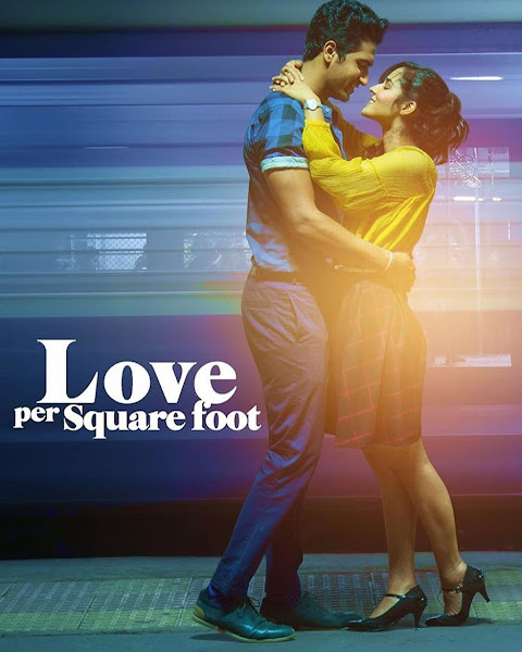 Poster of Love Per Square Foot (2018) Full Movie Hindi 720p HDRip ESubs Download