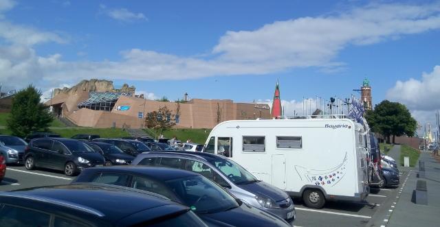Bremerhaven, pàrquing de visitants