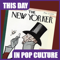 The New Yorker first issue was published on Februry 21,1925