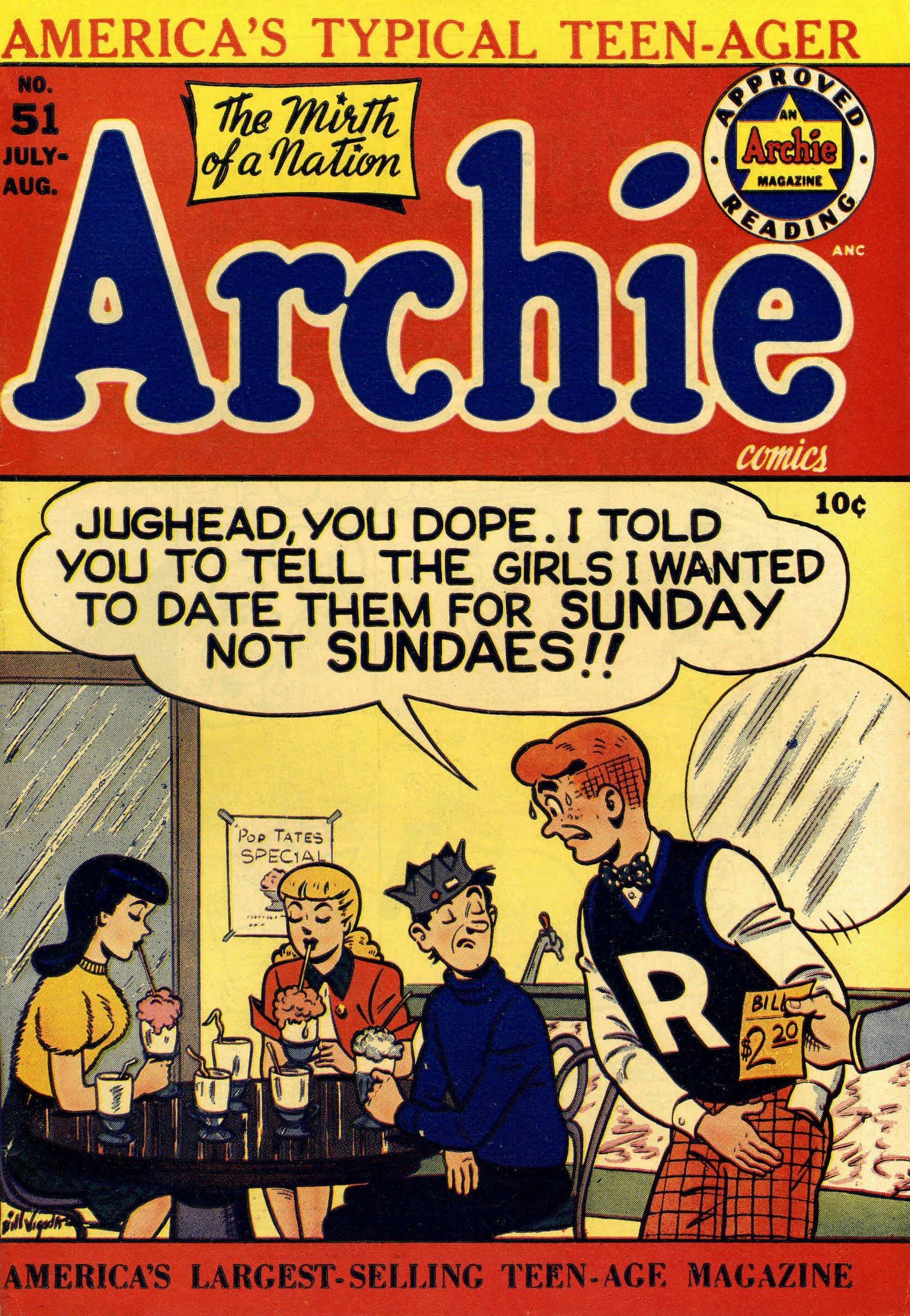 Archie Comics 051 Page 1
