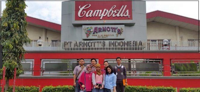 Cara Melamar kerja PT. Arnott's Indonesia Melalui Email Untuk Tingkat SMA / SMK sederajat (PONDOK UNGU)