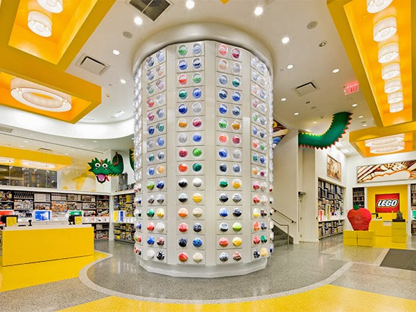 Lego store, Rockefeller Center, Nueva York
