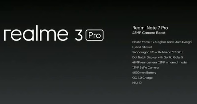 Realme 3 pro launch date in india and price