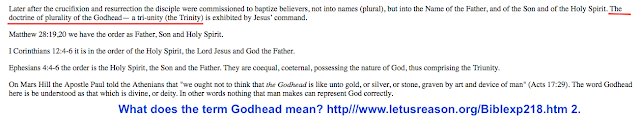 What does the term Godhead mean? http://www.letusreason.org/Biblexp218.htm
