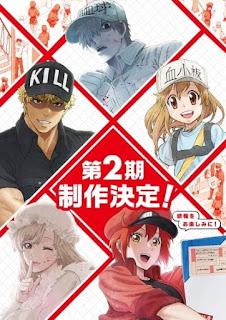تقرير أنمي الخلايا في العمل! Hataraku Saibou 2nd Season الموسم الثاني
