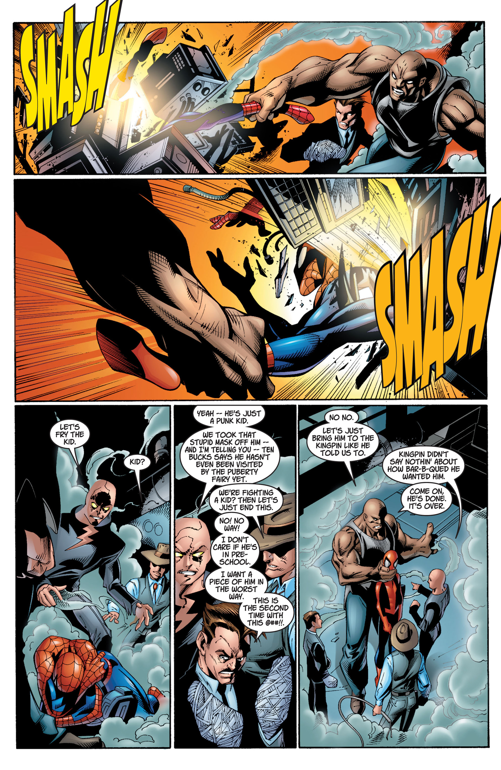 Read online Ultimate Spider-Man (2000) comic -  Issue #12 - 5