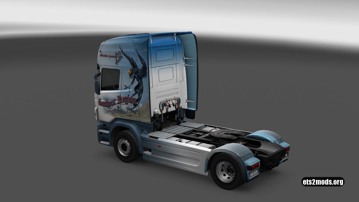 Scania R Southern Region Skin