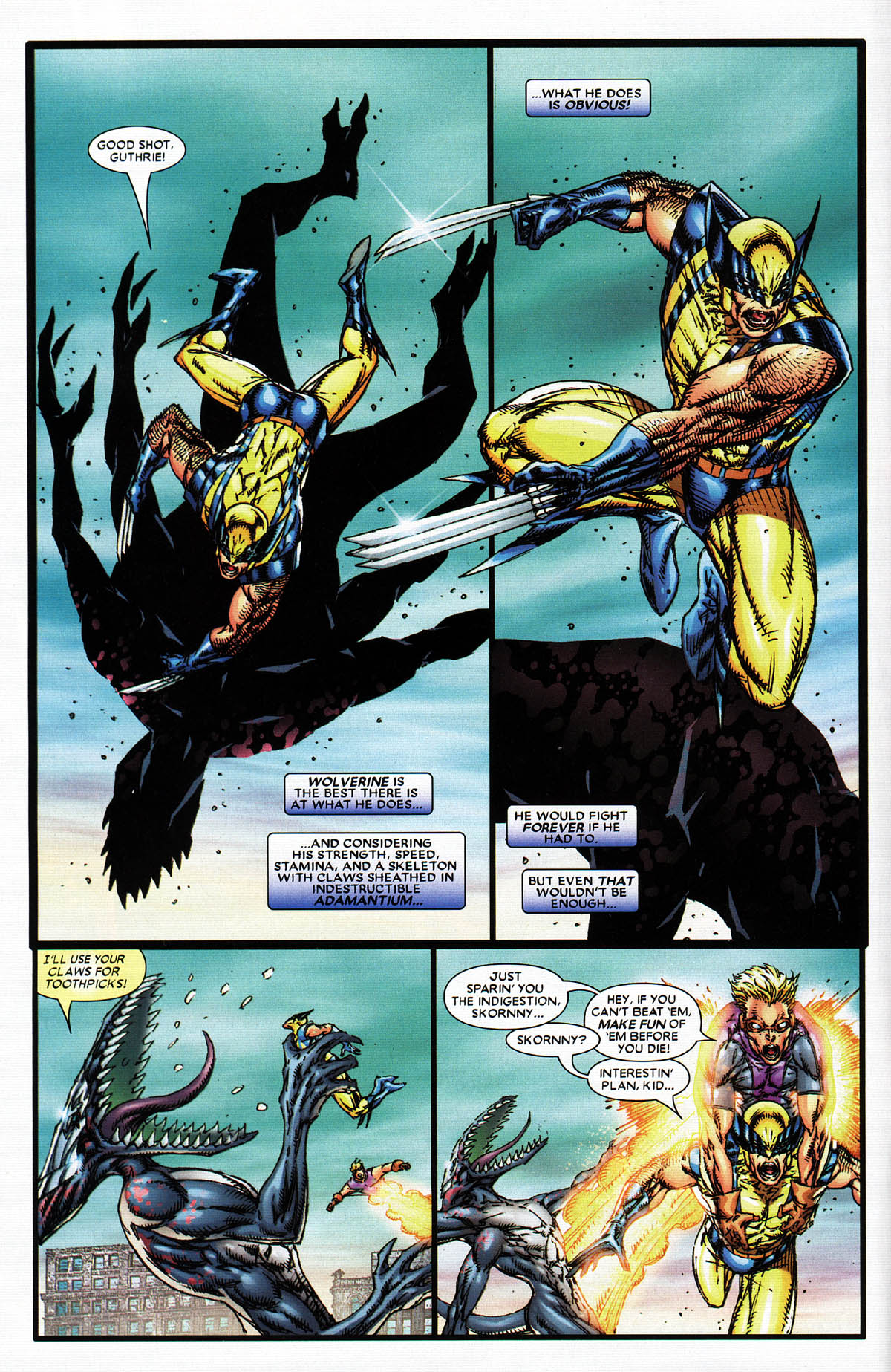 Read online X-Force (2004) comic -  Issue #6 - 10