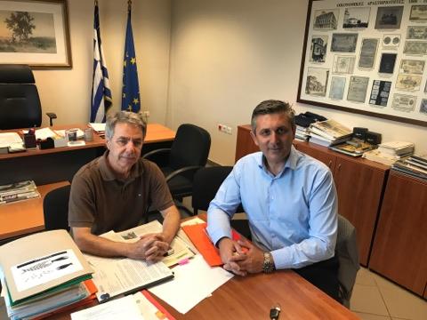 Άρτα: Συναντήσεις Δημάρχου στην Αθήνα για αγροτικά θέματα και έργα υποδομών